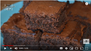 Brownie SIN GLUTEN con Thermomix
