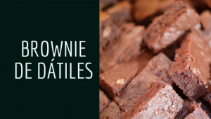 Brownie de dátiles