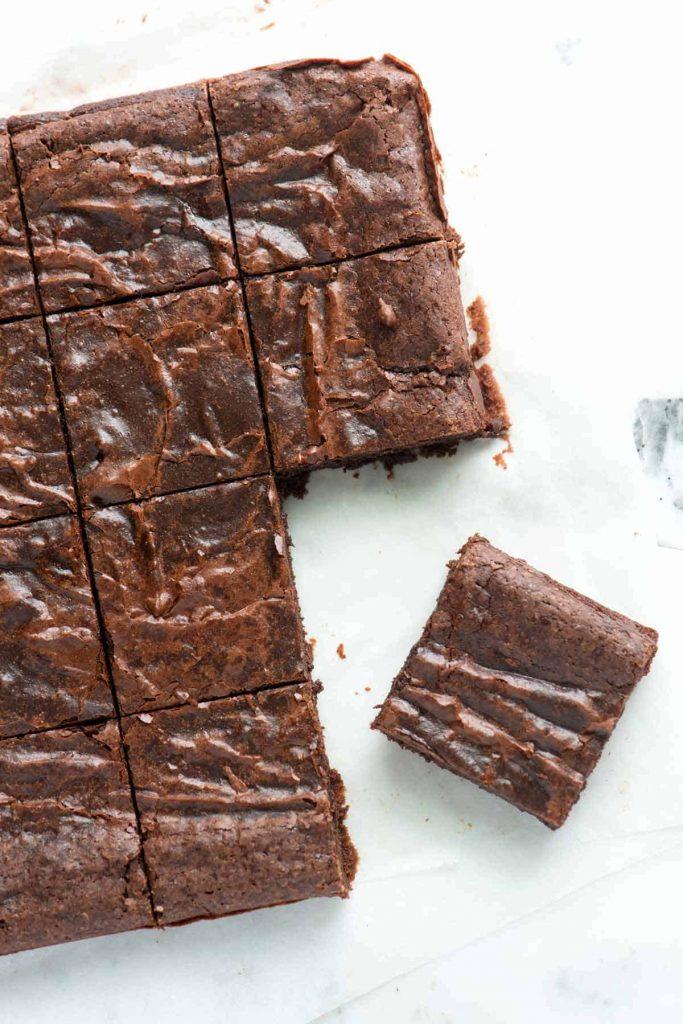 Brownies fáciles y esponjosos en 4 pasos 2